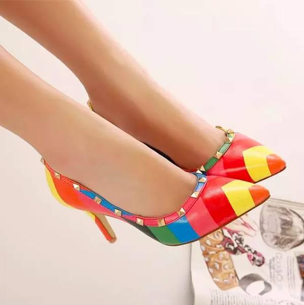 Heels Rainbow Sandra