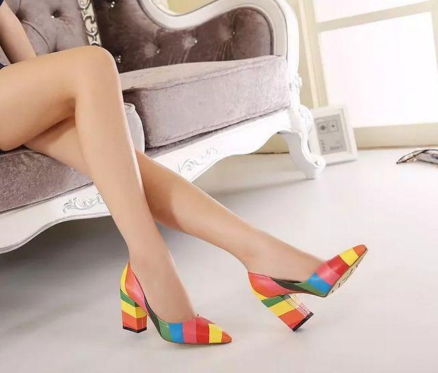 Heels Rainbow Jill