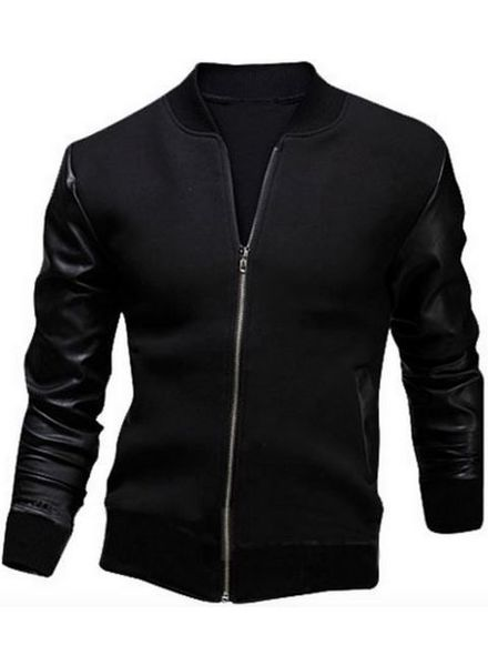 Baseball Jacket Roman Leather