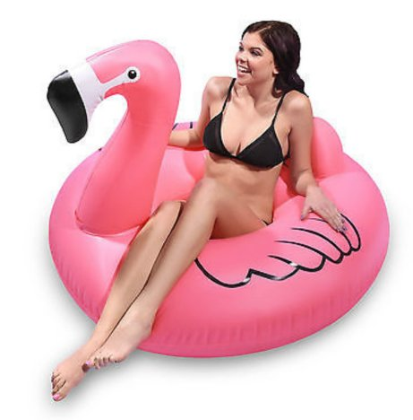 Flamingo Ring Float 125 cm
