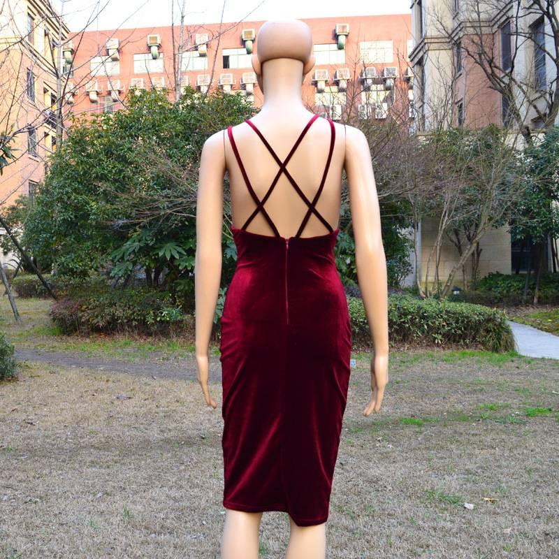 Dress Velvet Soca
