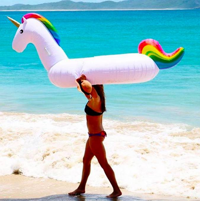 Giant Unicorn Float 270 cm (2 PCS)