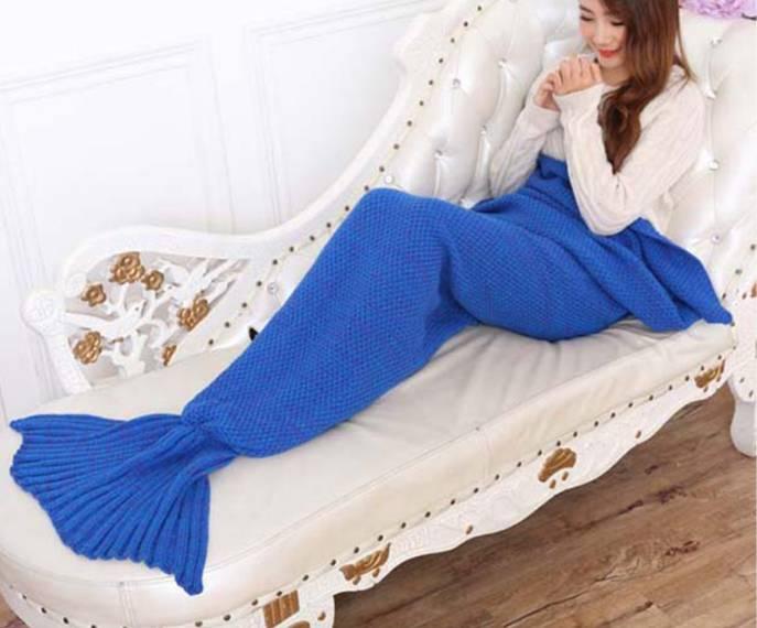Mermaid Blanket 190 cm