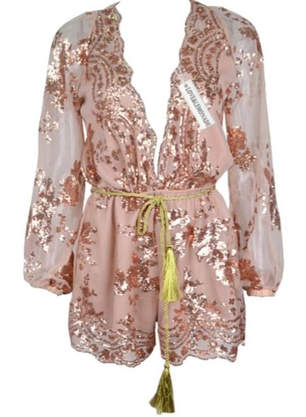 Playsuit Sequins