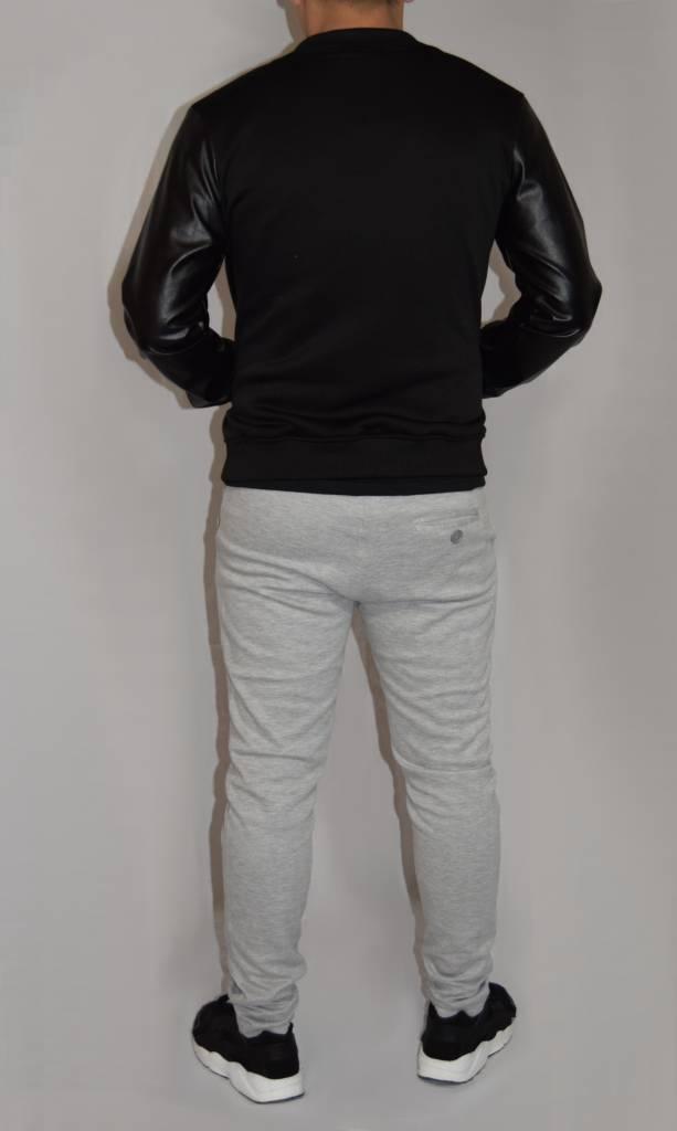Baseball Jacket Roman Leather