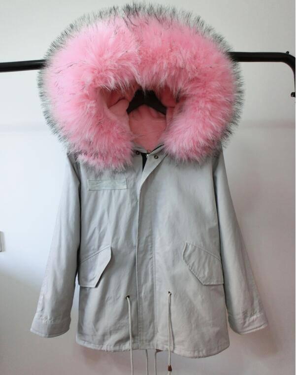 Padded Jacket Soft Pink
