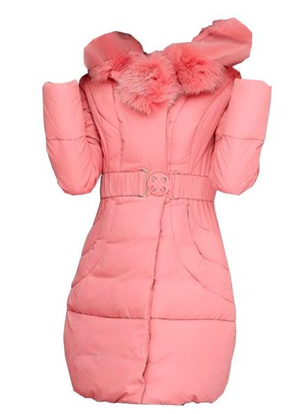 Padded Jacket Faux Fur Zoe