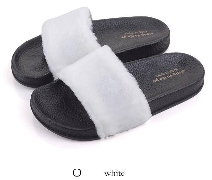 Flip Flop Faux Fur