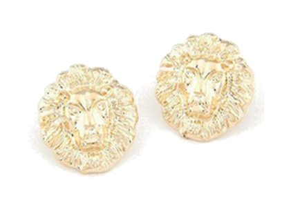 Earrings Lion