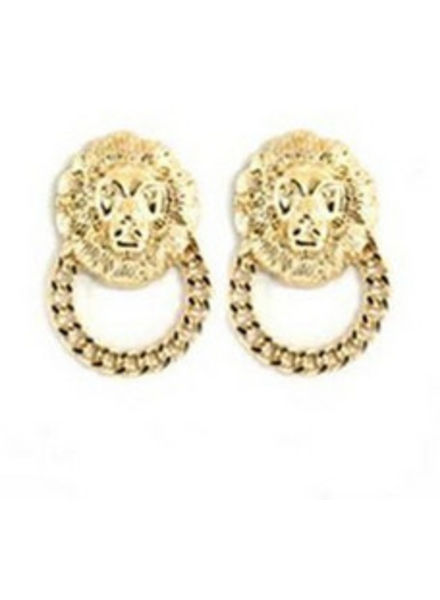 Earrings Lion Cedro