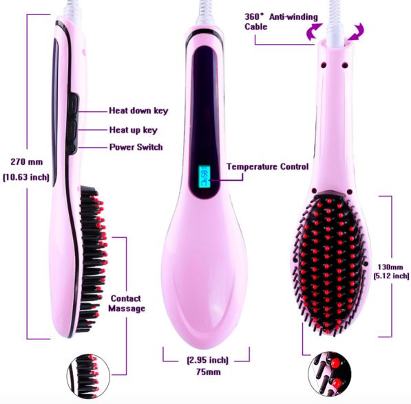 Magic Straightening Brush