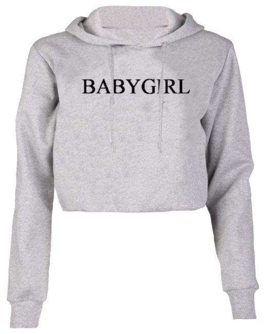 Crop Top Sweater Baby Girl