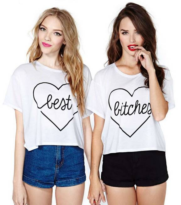 T-shirt Set Best Bitches