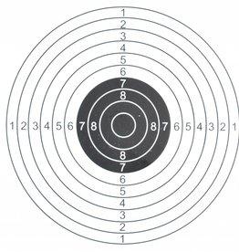 ASG Schietkaart 14x14cm