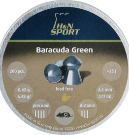 Haendler & Natermann H&N Baracuda Green  4,5mm 6.48gr