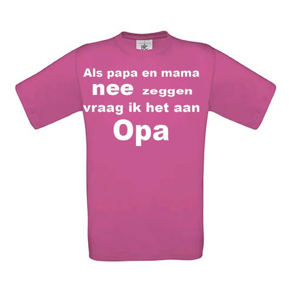 Als Mama en Papa NEE zeggen vraag ik het Opa
