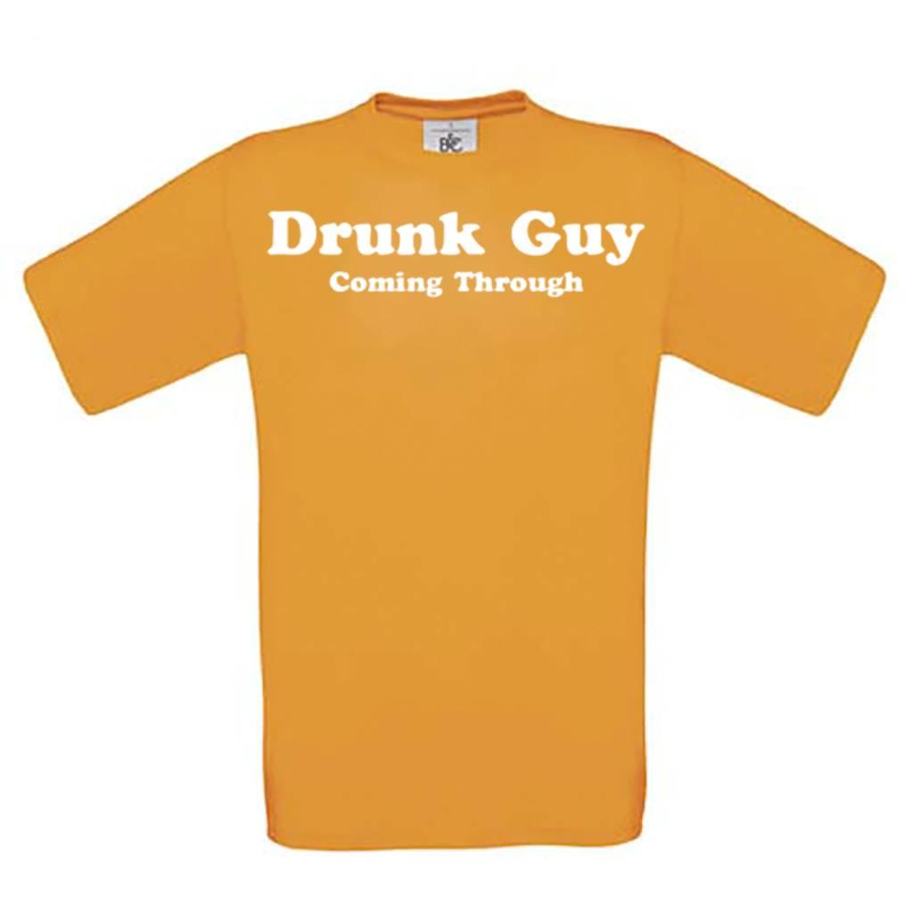 Drunk Guy Coming Through