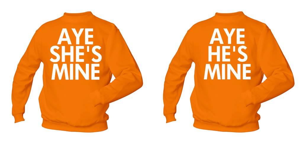 Aye She's Mine - Aye He's Mine
