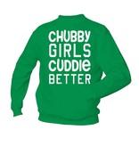 Chubby girls cuddle better