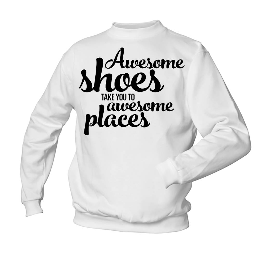 Awesome shoes - awesome places