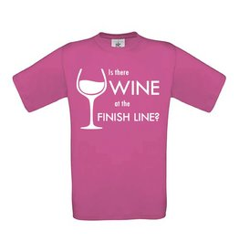 Is there wine at the finish line?