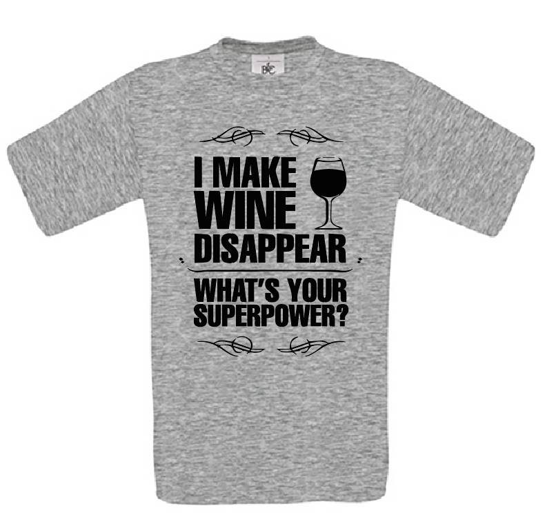 I make Wine Disappaer
