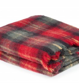 Cape Mohair Cherry Plaid - Travel