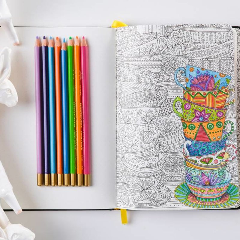 The ColoringNotebook - beautiful combination of colouring book and ...