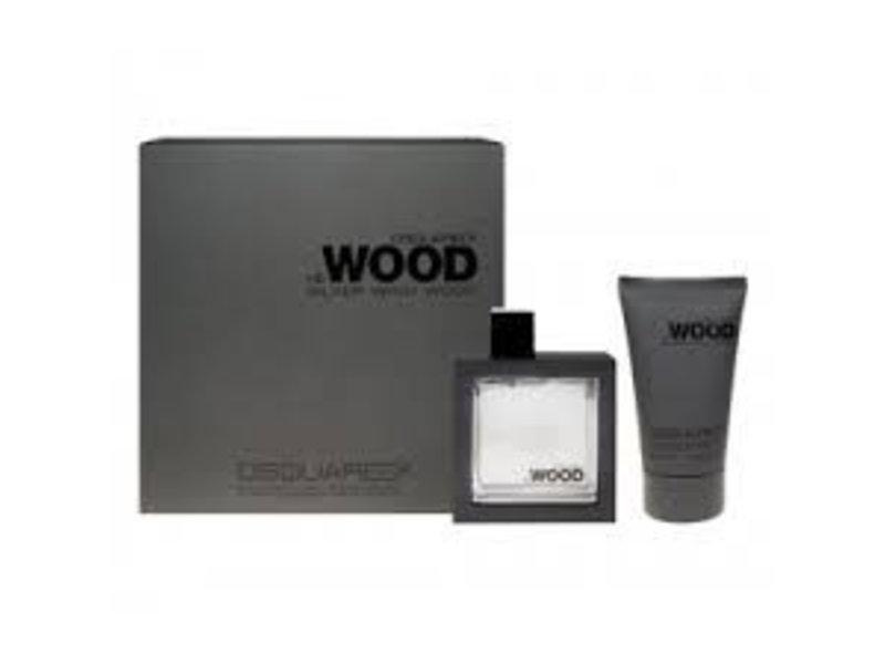 Dsquared Dsquared Dsquared - Silver Wind Wood Eau de Toilette 50ml + Showergel 100ml Eau de toiletteGiftset