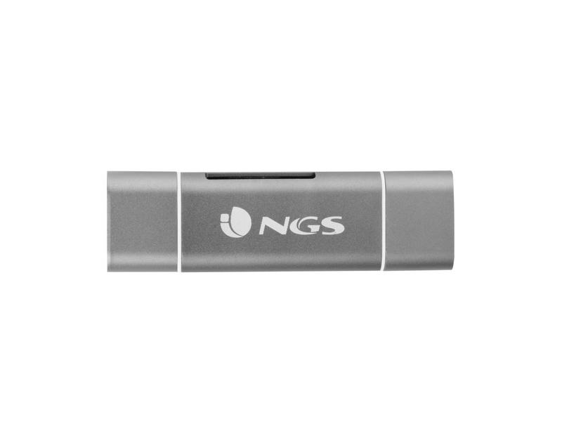 NGS NGS - Cardreader - ALLY Reader - 5 in 1 - USB type C