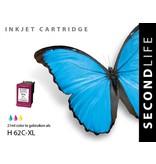 SecondLife HP 62 Color XL