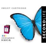 SecondLife HP 301 Color XL