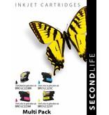 SecondLife Brother LC 223 Multipack ( 4stuks )