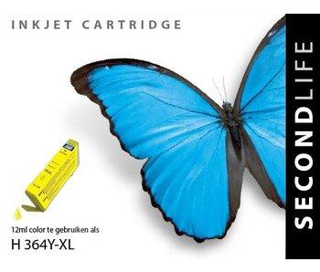 SecondLife HP 364 XL Yellow