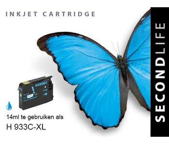 SecondLife HP 933 XL Cyan