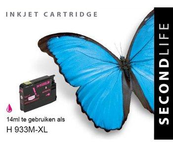 SecondLife HP 933 XL Magenta