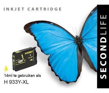 SecondLife HP 933 XL Yellow