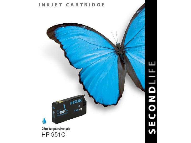 SecondLife HP 951 XL cyan