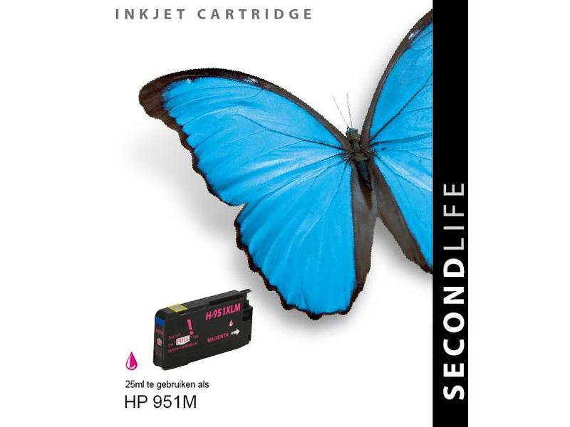 SecondLife HP 951 XL Magenta
