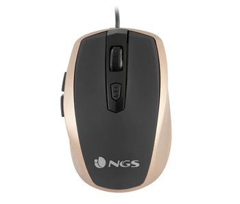 NGS Tick Gold Muis