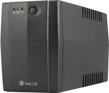 NGS NGS Fortress 1200 V2- 480W -  Stand-by (Offline) 800VA 2AC outlet(s) Zwart - UPS - 480W - Noodstroom
