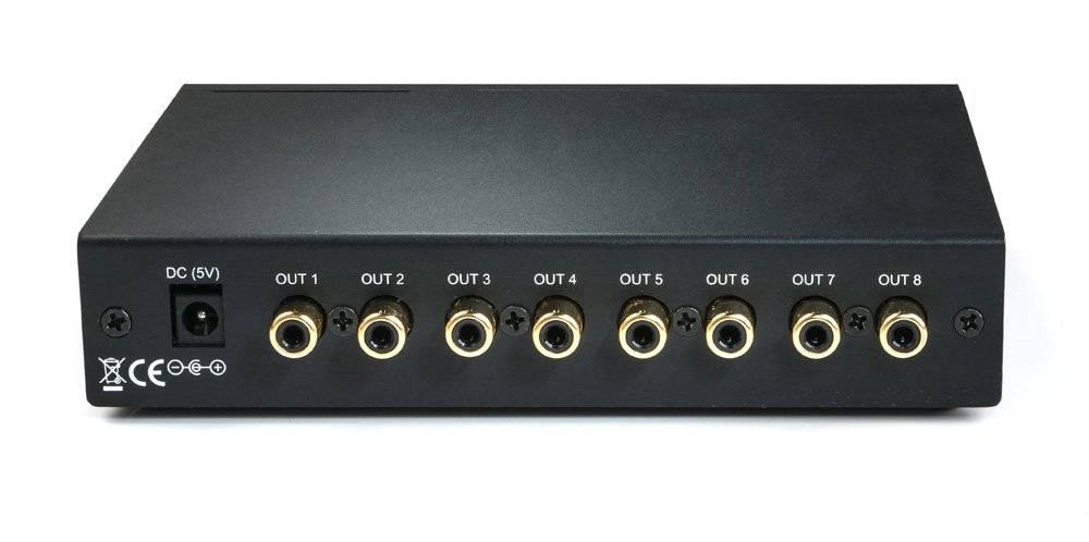 MiniDSP U-DAC8 - 8 kanaals USB DAC