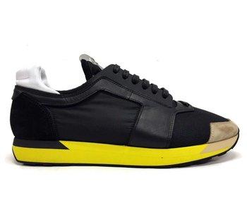 Iceberg Runner Sneaker Zwart - Gele Zool