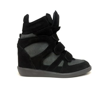 Trussardi Sneaker Wedge Zwart