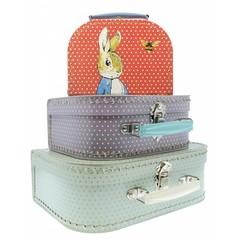Petit Jour Paris Petit Jour Peter Rabbit suitcase set 3 pieces
