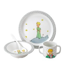 Petit Jour Paris Petit Jour Little Prince Prince 4-Piece Set gray