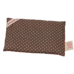 Simonatal SimoNatal rape pillows points pink / brown Wärmekissen 18x12
