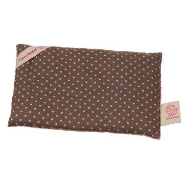 Simonatal SimoNatal rape pillows points pink / brown Wärmekissen 18x12