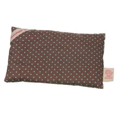 Simonatal SimoNatal rape pillows points turquoise / brown Wärmekissen 18x12