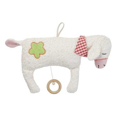"""Efie Efie Musical schapen grote """"Lullaby Mozart"""" witte KBA"""